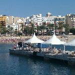 Beach at Benidorm