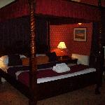 Beautiful four poster bedroom