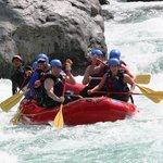 Whitewater Raft the Skykomish River