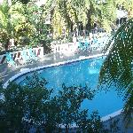 view of pool from 3rd floor room