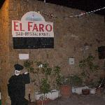 the entrance to El Faro