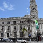 The beautiful old Town Hall building