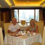 Desayunando en el piso31