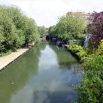 The canal walk to Camden Market