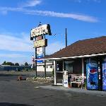 Vintage motel, but very nice service!
