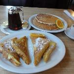French toasts et pancakes