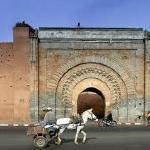 Marrakech (Arabic: مراكش Murrākush), known as the Pearl of the South or South Gate and