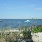 the bay in Brant Beach, a lovely bike ride from Ship Bottom