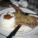 Steak and Rice and Beans