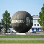 This monument could remind you of a Death Star