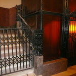 Lift from the Spa to the Hotel Gellert rooms