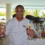 Juan Recio - Cocktail artist at Gabi Club