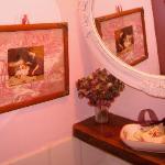 petit détail d une salle de bain