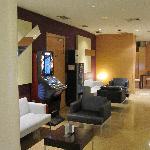 Foyer / bar area