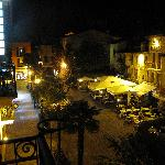 View of Piazza at night