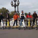 Découvrir Paris autrement, sans fatigue et beaucoup de fun....