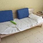 El sofá para dormir!!!!!!!!