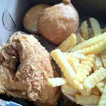 The fried chicken is the best in Oregon