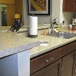 Updated kitchen w/ granite counters.