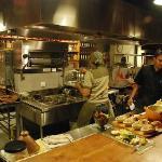 Khaima kitchen