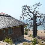 Bungalow mit Blick auf Strand