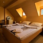 San Korana:  warm wooden room