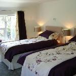Panteidal farmhouse, bedroom one.