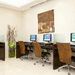 Business Center with Free WIFI