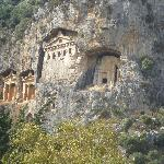 Caunos Tombs Dalyan riverside