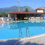 View of pool at Sahin