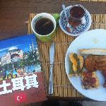 enjoy the Turkey's breakfast on the rooftop terrace