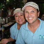 Bartenders Sandra and Billy