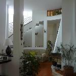 escalier menant à la chambre