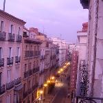 View down Calle Prado (toward Prado Museum)