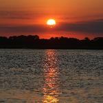 Sunset from the Dataw Island Marina
