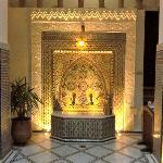 Fontaine de l'accueil du Riad