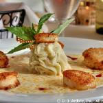 Scallops Appetizer