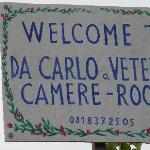 Entrance to Carlo a Veterino