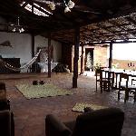 Back lounge area