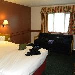 Bedroom at Days Inn Abington