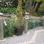 Charming herb garden