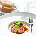 Garlic Prawns w/toasted sourdough bread