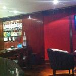 the bar at L'Hotel