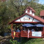 My favorite spot in Helen - Cafe International