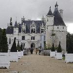 The beautiful Chateau Chenonceau