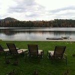 lake front lawn