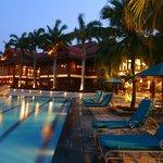 Pulai Springs Resort at dusk.