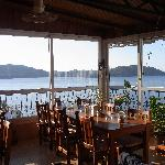 A beautiful place for breakfast