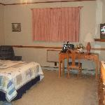 a pic showing room 107 main roomy space