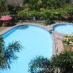 very clean swimming pool
